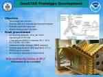 geostar prototype development