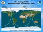 the molniya orbit northern points 180 degrees apart
