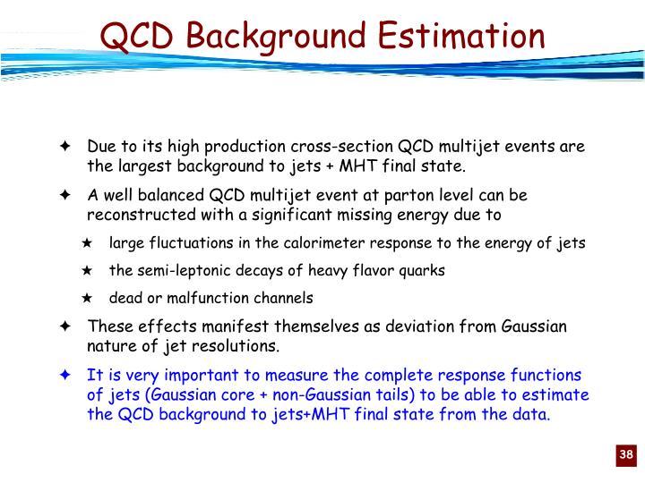 QCD Background Estimation