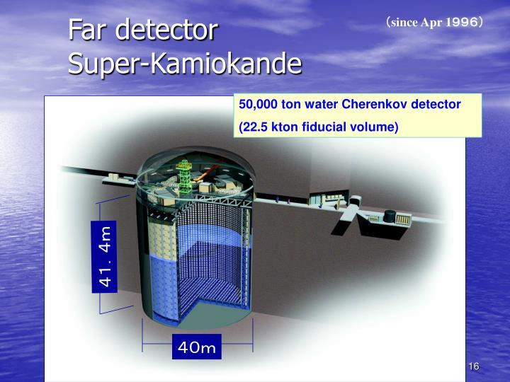 Far detector