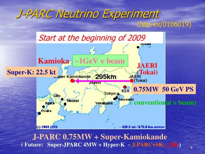 J-PARC Neutrino Experiment