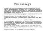 past exam q s