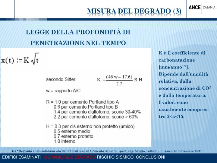 MISURA DEL DEGRADO (3)