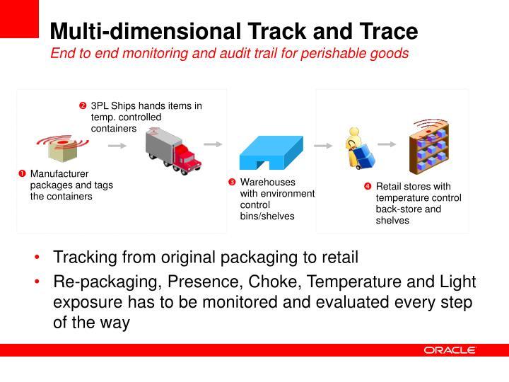 Multi-dimensional Track and Trace