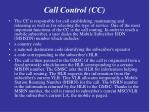 call control cc