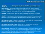 energetic particles deep space missions