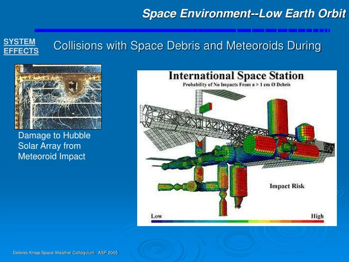 Space Environment--Low Earth Orbit