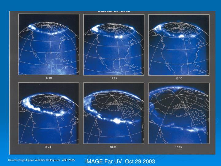 IMAGE Far UV  Oct 29 2003