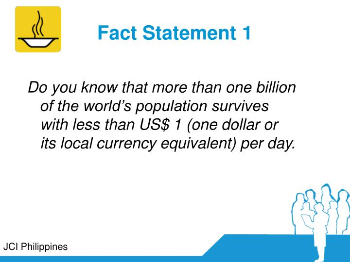 Fact Statement 1