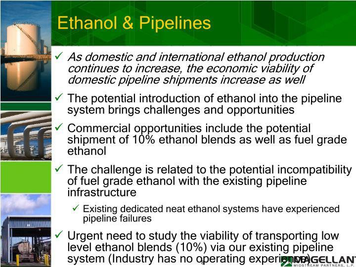 Ethanol & Pipelines