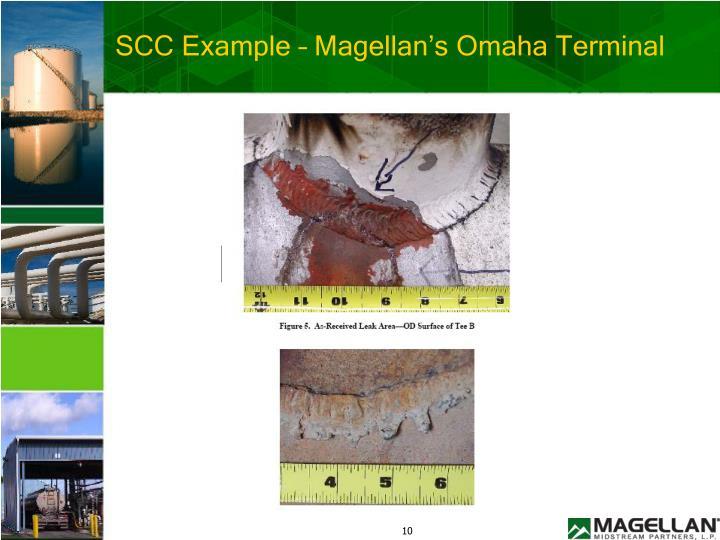 SCC Example – Magellan's Omaha Terminal