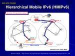 hierarchical mobile ipv6 hmipv6