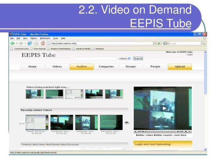 2.2. Video on Demand