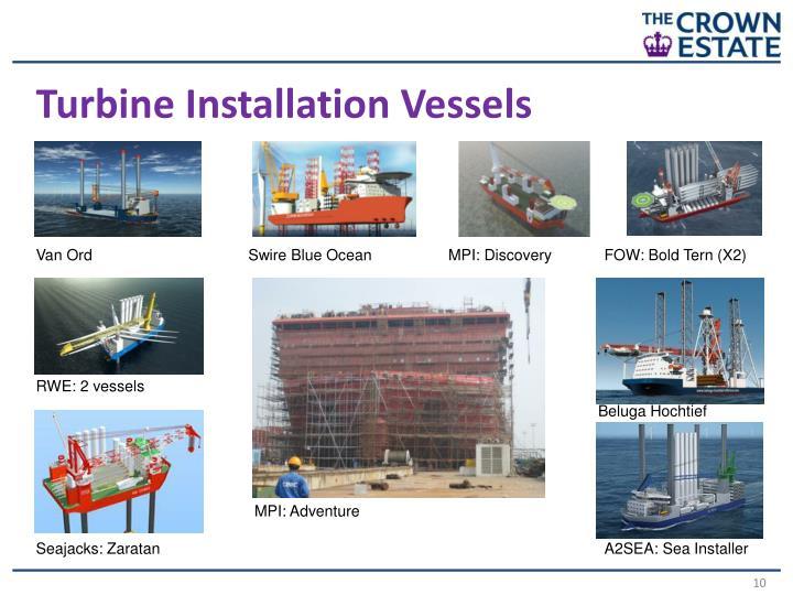 Turbine Installation Vessels
