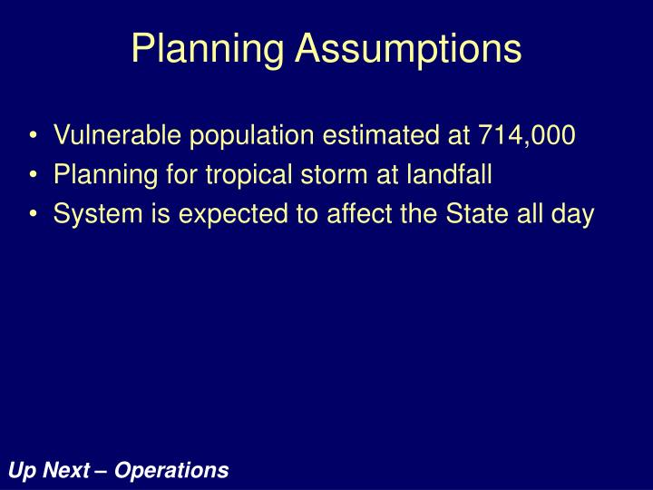 Vulnerable population estimated at 714,000