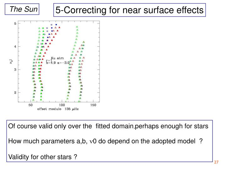 5-Correcting for near surface effects