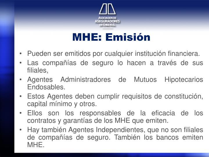 MHE: Emisión