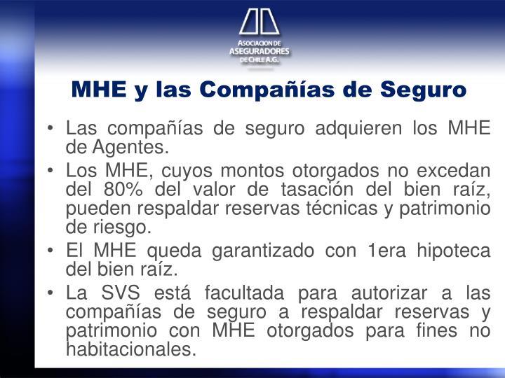 MHE y las Compañías de Seguro
