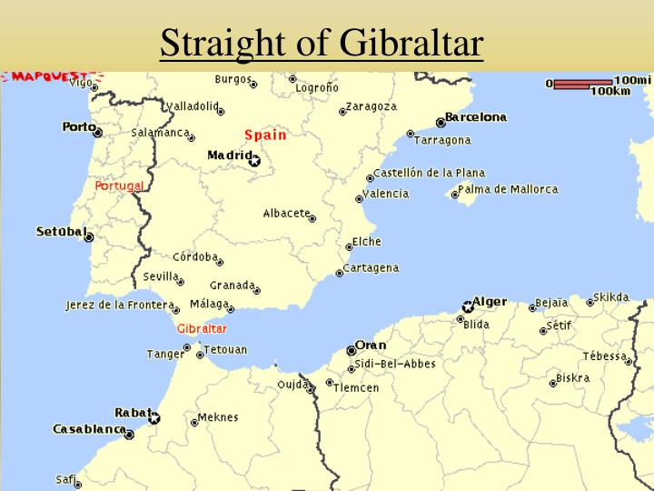 Straight of Gibraltar
