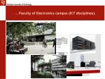 faculty of electronics campus ict disciplines