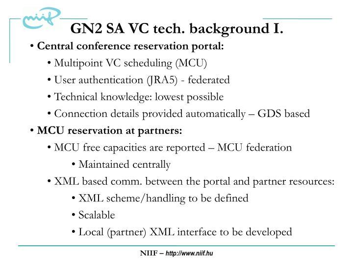 GN2 SA VC tech. background I.