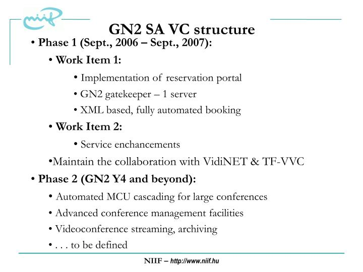 GN2 SA VC structure