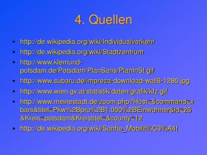 4. Quellen