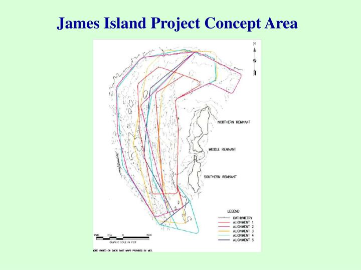 James Island Project Concept Area