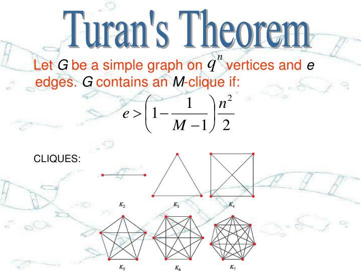 Turan's Theorem