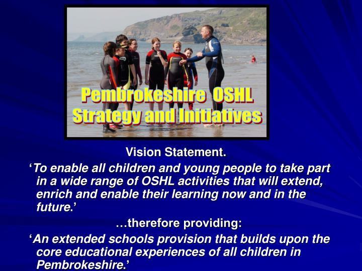 Vision Statement.