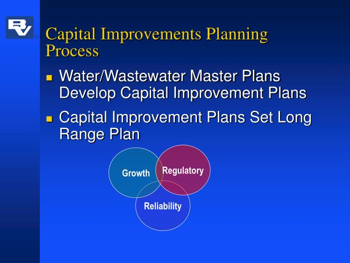Capital Improvements Planning Process