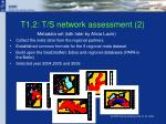 t1 2 t s network assessment 2