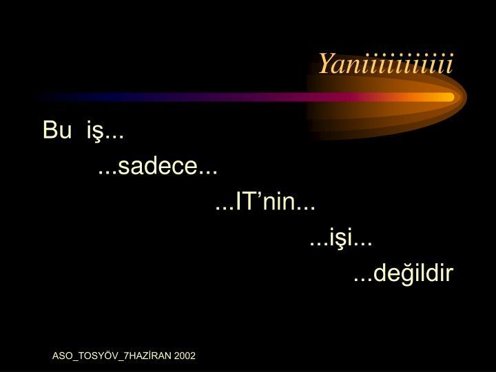 Yaniiiiiiiiiii