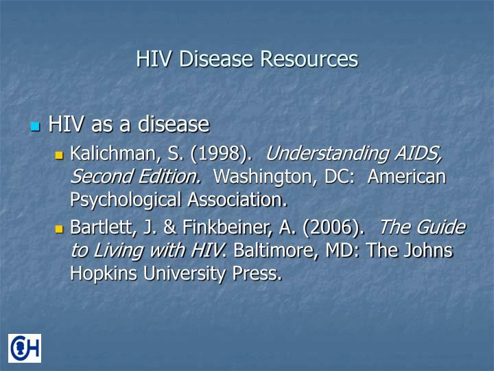 HIV Disease Resources