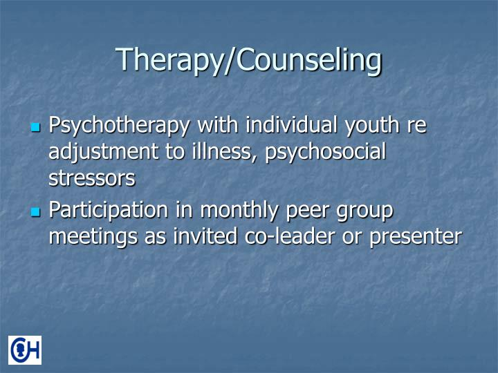 Therapy/Counseling
