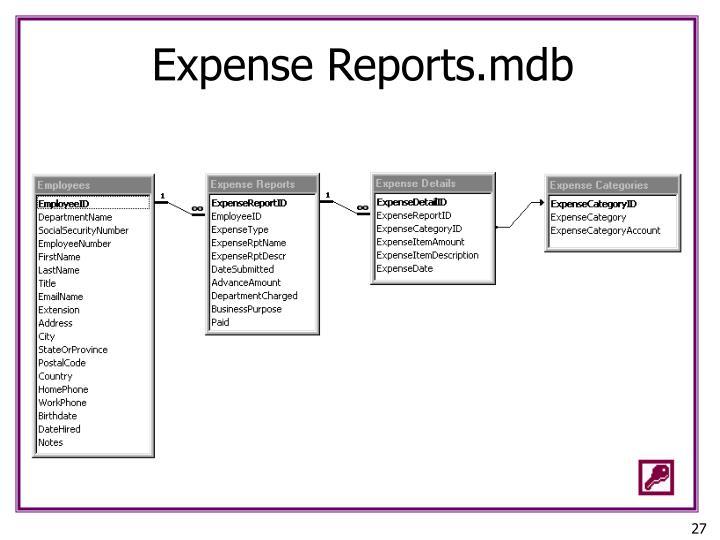 Expense Reports.mdb