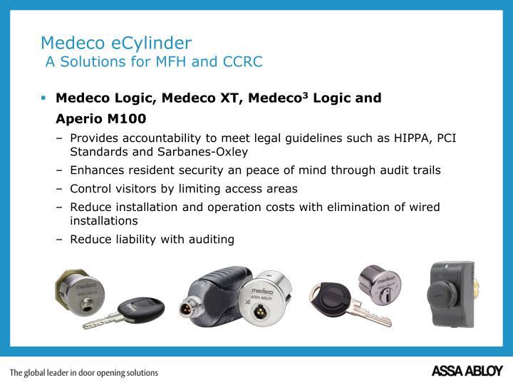 Medeco Logic, Medeco XT, Medeco