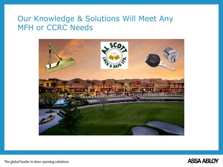 Our Knowledge & Solutions Will Meet Any