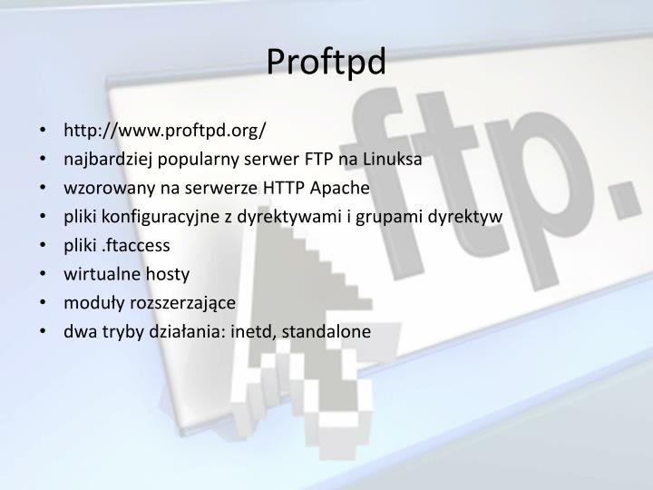 Proftpd