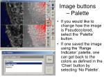 image buttons palette