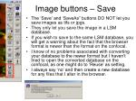 image buttons save