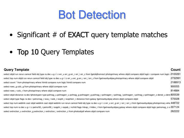 Bot Detection