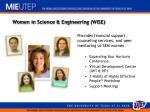women in science engineering wise