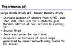 large batch study 2 sensor density study