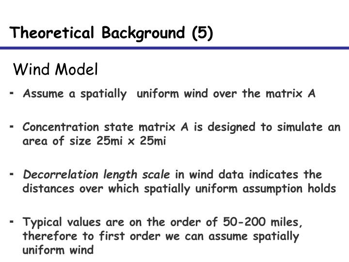 Theoretical Background (5)