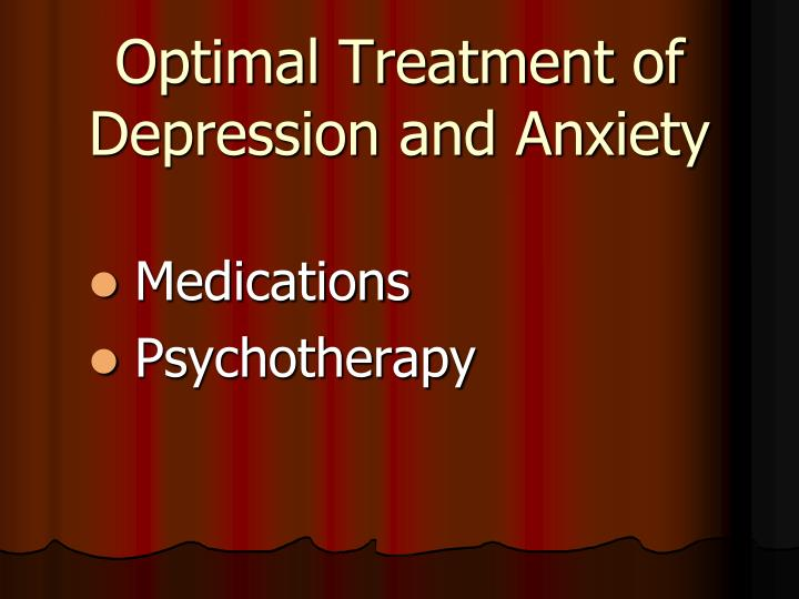 Optimal Treatment of