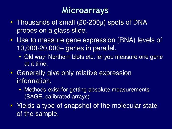 Microarrays