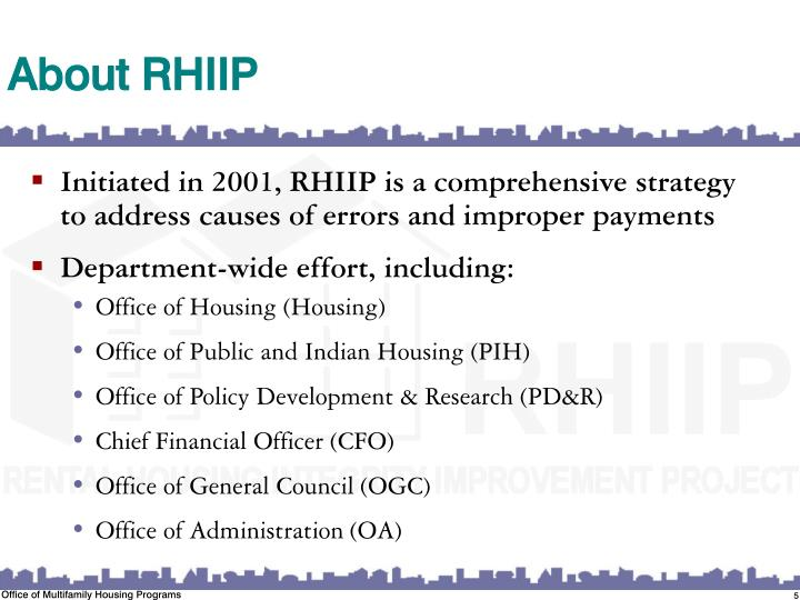 About RHIIP