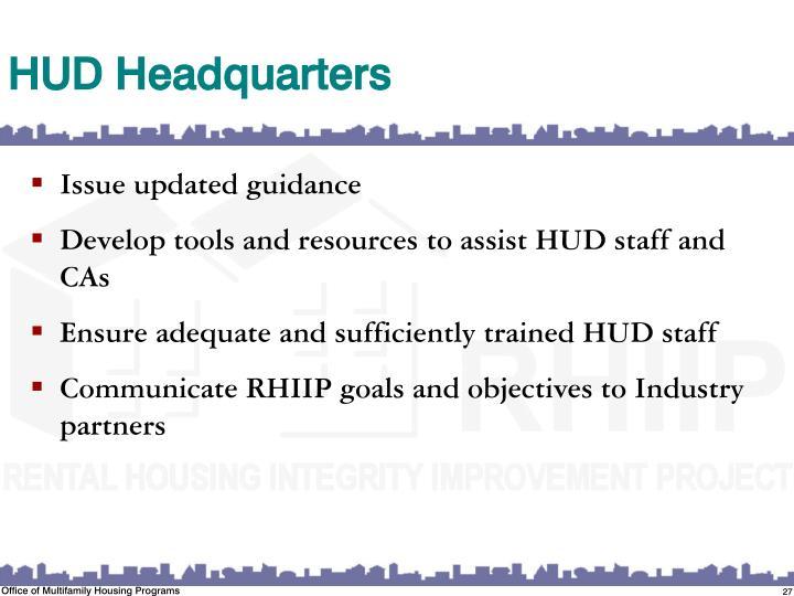 HUD Headquarters