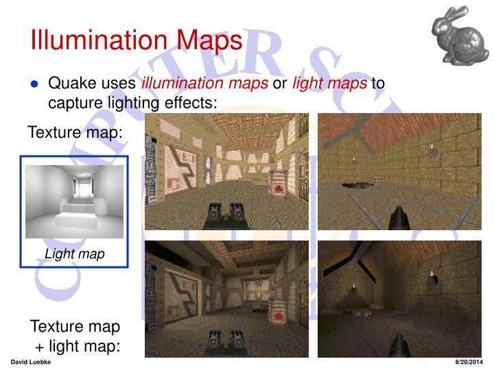 Illumination Maps